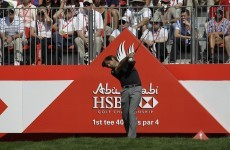 Rock on: Englishman stares Woods and McIlroy down