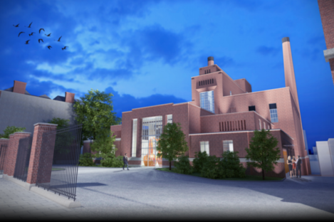 An artist's impression of the new distillery