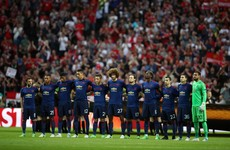 Watch: Silence, applause as United and Ajax honour Manchester victims