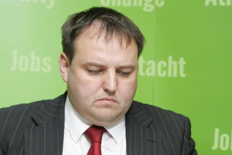 Sinn Féin's Pádraig Mac Lochlainn