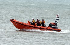 Search for fisherman who went overboard in Irish Sea