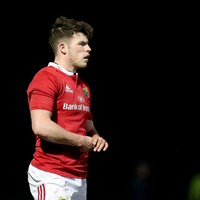 Munster's U20 star Nash grateful for Conway and Earls' influence as he goes from strength to strength