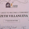 Teachers punished after child given 'most likely to become a terrorist' award