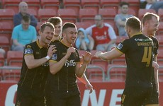 Super Saints to sinners: Duffy's majestic free-kick sees Pat's sink to bottom of the table