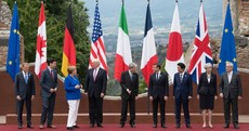 G7 leaders met at Greek amphitheatre in Sicily today but Donald Trump flipped the script