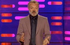 Graham Norton opened his show with a tribute to the victims of the Manchester attack