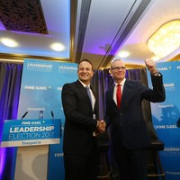 Leadership battle gives Fine Gael a boost in the polls