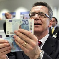 Interceptions of counterfeit notes down almost a third in 2011