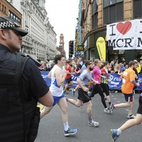 Thousands of runners unite and stand defiant for emotional Great Manchester Run