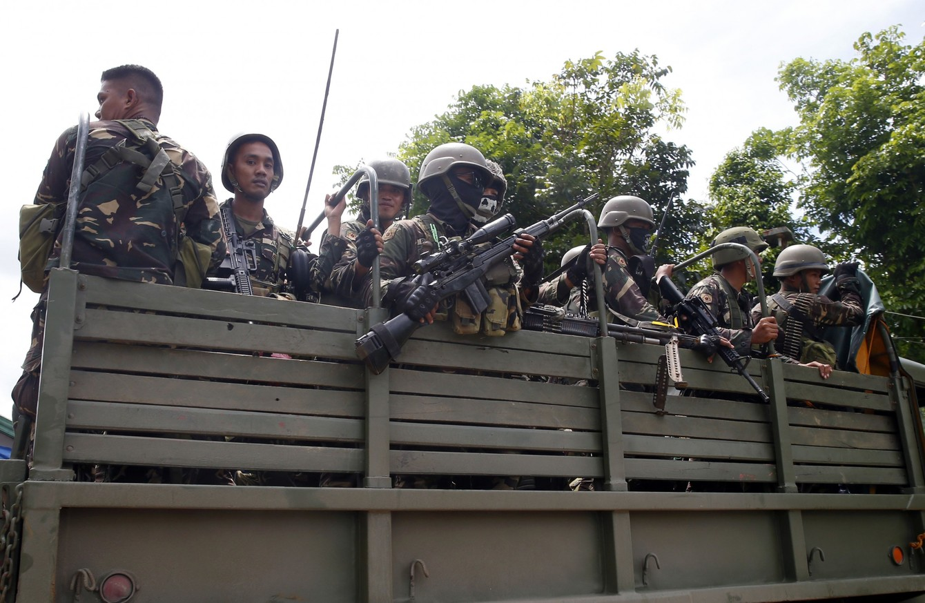 IS-linked Militants Have Taken Parts Of A Philippine City