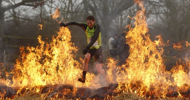 In pictures: Are you tough enough? The Tough Guy challenge