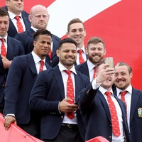 Bring on the battles! Gatland's Lions set off for demanding New Zealand tour