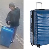 Manchester police release new CCTV image of Manchester bomber carrying blue suitcase