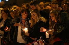 Hundreds turn out for vigil in Manchester exactly one week on from terrorist attack