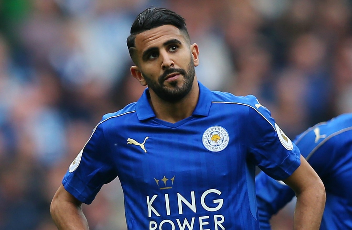 sale retailer ee8a2 fa532 Mahrez reveals desire to leave Leicester City · The42