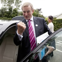 Enda's advice to his successor? 'Don't let the bastards get you down'