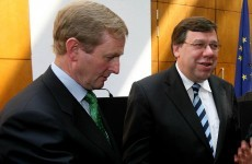"Kenny tells Dáil government is ""messing"" over loan guarantee"