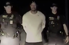 Police footage shows Tiger Woods struggling to walk in a straight line before arrest