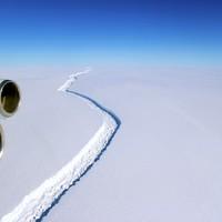 Iceberg as big as Galway on the brink of breaking away into ocean