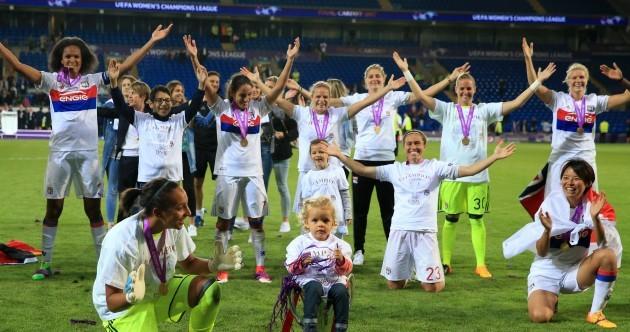 Goalkeeper scores winning penalty as Lyon secure Champions League triumph