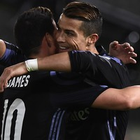 Ronaldo wants James to stay at Madrid but accepts it's unlikely