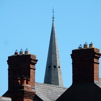 Worker gets €10k after being told to 'wing it' on a steeple with no harness