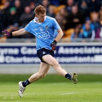 Getting his Na Fianna debut from Pillar Caffrey, training with Jonny Cooper and Dublin senior prospects