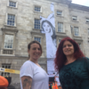 Renowned artist Joe Caslin is transforming Trinity's front square to advocate for kinder drug laws