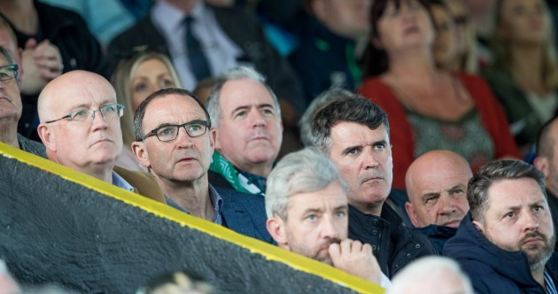 Martin and Roy back from New York to see Maguire net hat-trick for leaders Cork City