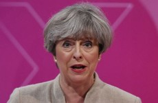 May accused of 'broken promises', but defends 'having the balls to call election'
