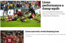 'A damp squib' - Media mock Lions' opening effort in New Zealand