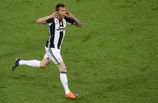 Mario Mandzukic scored one of the greatest Champions League final goals in a long time