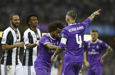 Sergio Ramos embarrassed himself by feigning injury and getting Juan Cuadrado sent off