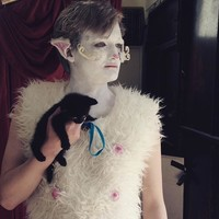 Joffrey from Game of Thrones was down in Kilkenny performing poetry for cats yesterday - no, really