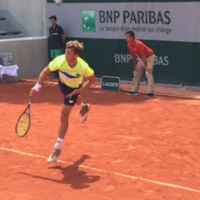 Son of former Dublin manager produces stunning comeback win at French Open