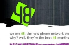 Introducing a new mobile network... for young people only