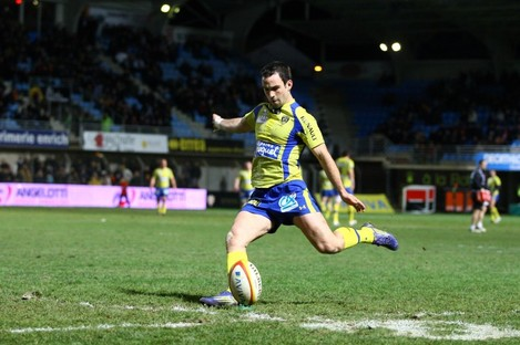 Morgan Parra was the hero for Clermont.
