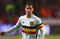 Chelsea's Eden Hazard fractures ankle on international duty