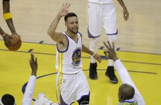 Curry serves up a storm as Golden State go 2-0 against the Cavs in the NBA Finals