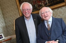 Michael D Higgins met Bernie Sanders yesterday, and everyone wants them to be best mates