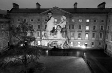 This powerful new mural by artist Joe Caslin just went up in Trinity's Front Square