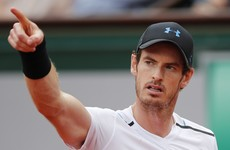 Andy Murray pays tribute to victims of UK terror attacks after progressing in French Open