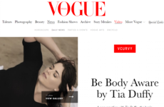 An Irish model has made Vogue with an inspiring message about body image