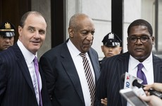 Cosby trial opens with witness breaking down in tears on stand