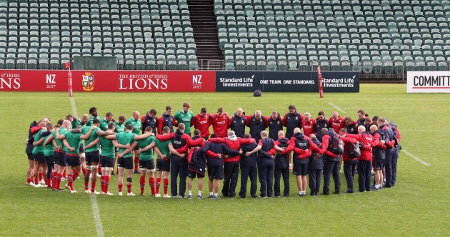 'Emotional' Lions squad hold minute's silence in New Zealand for victims of London terror attack