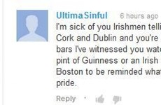 Everyone is taking the piss out of this Irish-American's angry comment on what it means to be Irish