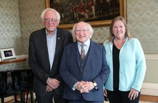 Bernie Sanders tweeted about his meeting with Michael D and Americans think they're twins
