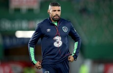 Ireland's striker worries continue as Jon Walters sits out training