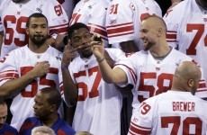Super Bowl XLVI: Introducing... The New York Football Giants
