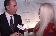 Jerry Seinfeld denying Kesha a hug might be the most awkward thing you'll see today